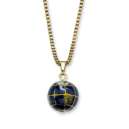 Lapis mosaic globe pendant necklace in yellow gold tone walmart lapis mosaic globe pendant necklace in yellow gold tone aloadofball Choice Image