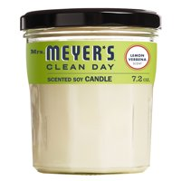 Mrs. Meyer?s Clean Day Scented Soy Candle, Lemon Verbena Scent, 7.2 ounce candle