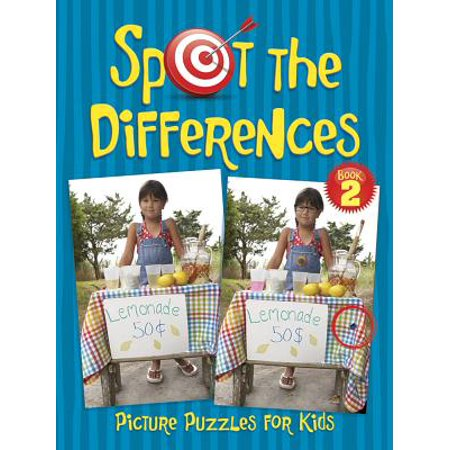 Spot the Differences Picture Puzzles for Kids Book 2 - Halloween Spot The Difference