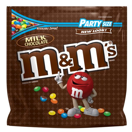 M&M'S Milk Chocolate Candy | Party Size, 42 Oz.