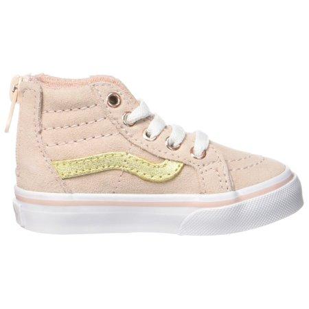 958b3a8a6c Vans - Vans Toddler Sk8-Hi Zip (MTE) Sepia Rose Metallic - Walmart.com