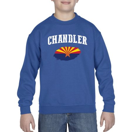 Chandler Arizona Youth Crewneck Sweatshirt