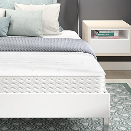 Signature Sleep Contour Encased Coil 8 Inch Mattress,