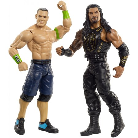 WWE John Cena vs Roman Reigns Battle Pack (John Cena Vs Eddie Guerrero Parking Lot Brawl)