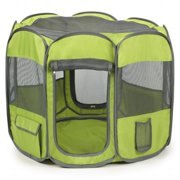 Insect Shield Fabric Exercise Pen Large, Green