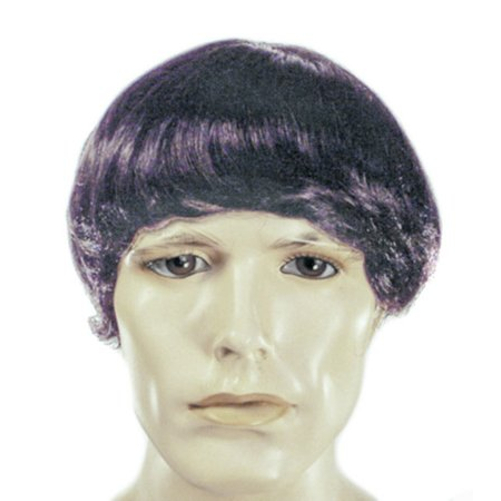 Moe Three Stooges Wig The 3 TV Show Howard Costume Mens Adult Black Comedy  sc 1 st  Walmart & Moe Three Stooges Wig The 3 TV Show Howard Costume Mens Adult Black ...