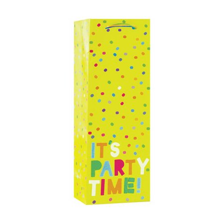 Design Design DESIGN22308338 It's Party Time Bottle Gift (It's Party Time)
