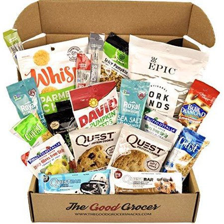 KETO Snacks Care Package (20ct): Ultra Low Carb, Ketogenic