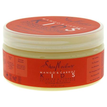 Shea Moisture Mango & Carrot Kids Nourish & Hydrate Styling Smoothie - 6 oz Cream