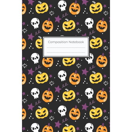 Halloween Trick Or Treat Rules (Composition Notebook: 6