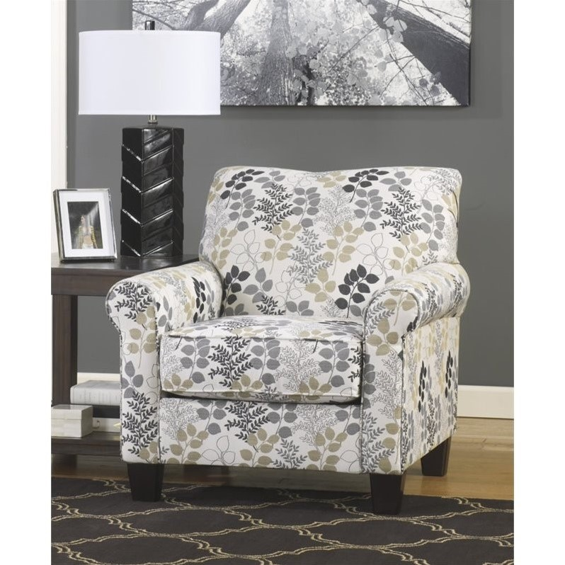 Ashley Makonnen Fabric Accent Chair in Winter by Ashley Furniture