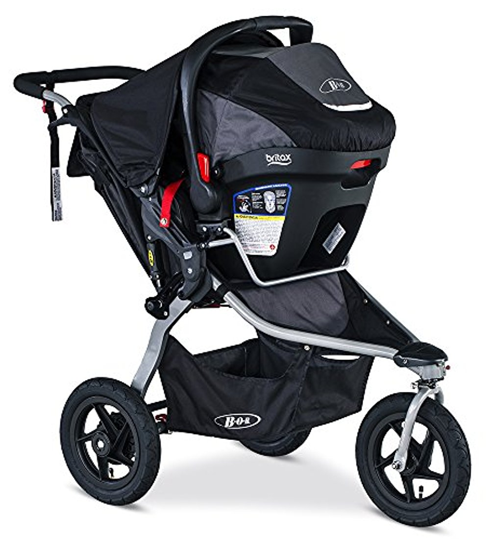 BOB Rambler Travel System, Black by Britax
