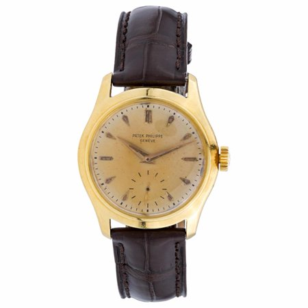 Pre-Owned Patek Philippe Calatrava 2532 Gold Watch (Certified Authentic & Warranty)