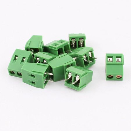 Pcb Terminal Blocks (10pcs 2 Pole 5.08mm 2pole Plug in PCB Mount Terminal Block Screw Connector )