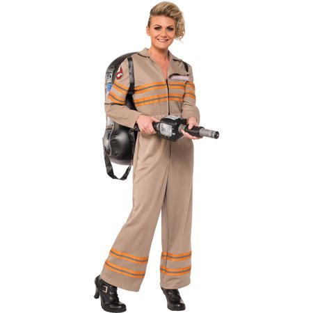 Deluxe Ghostbuster Adult Halloween Costume - The Real Ghostbusters Halloween