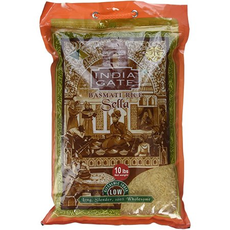 India Gate Parboiled Basmati Rice Bag Golden Sela Sella
