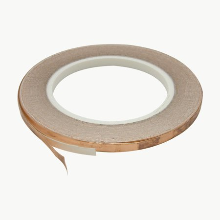 JVCC CFL-5A Copper Foil Tape: 1/4 in. x 36 yds. (Copper)