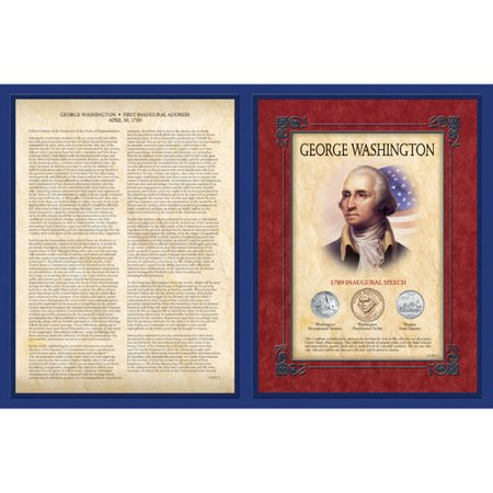 American Coin Treasures Famous Speech Series George Washington Memorabilia