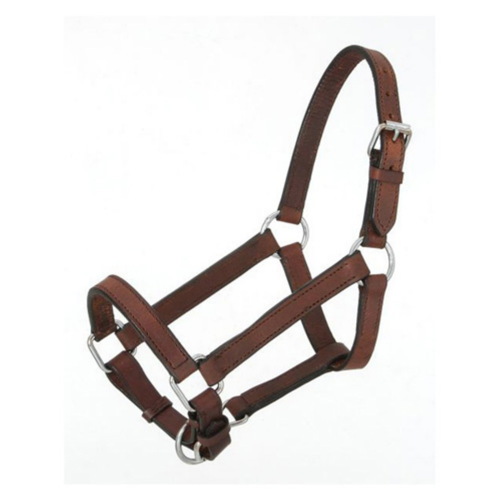 Royal King Brown Miniature Leather Halter