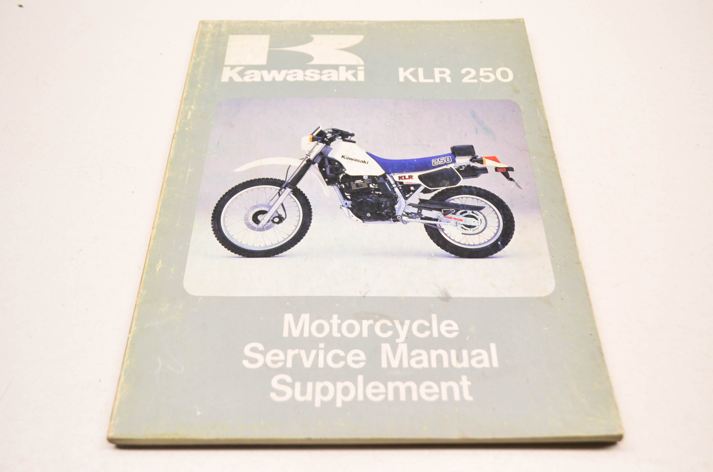 Kawasaki 99924-1051-01 85 KLR250 Service Manual Supplement QTY 1 -  Walmart.com