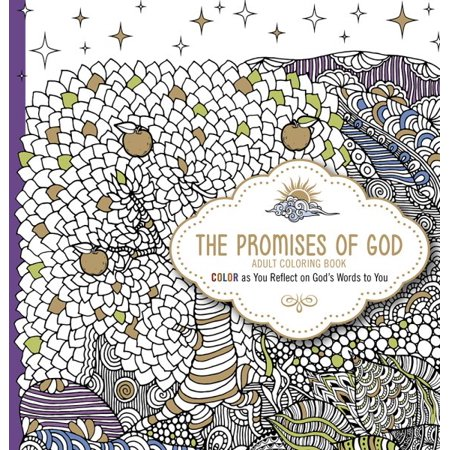 Printable Coloring Sheets For Adults (The Promises of God Adult Coloring)