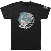 Cure Men's  Great Circle 2013 Tour Slim Fit T-shirt Black