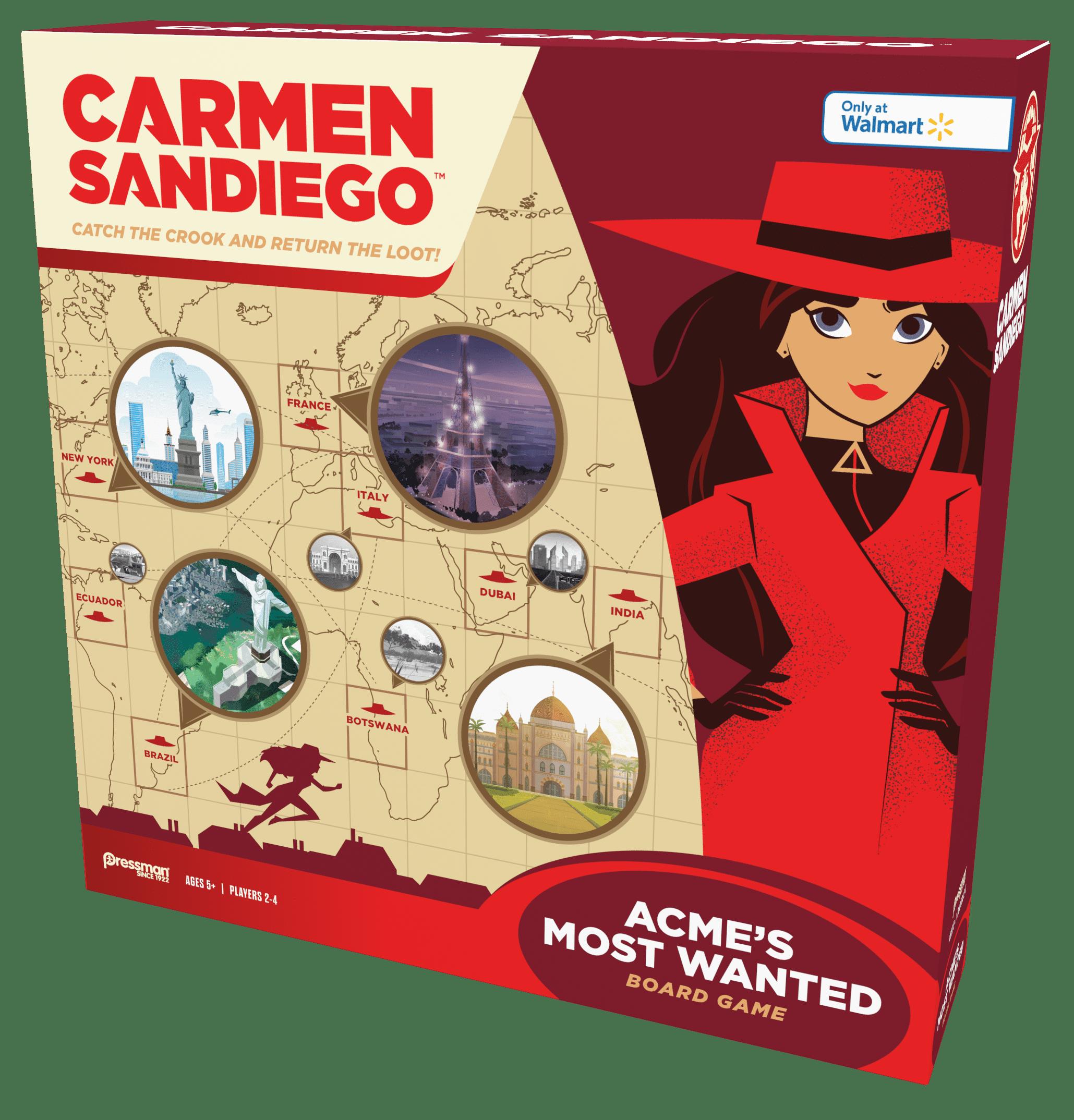 Carmen Sandiego Brand New In Box POP TV Funko Carmen Sandiego