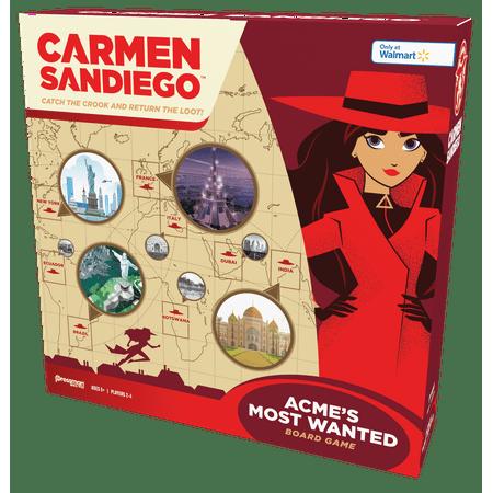 Pressman Carmen Sandiego: ACME's Most Wanted - Walmart Exclusive