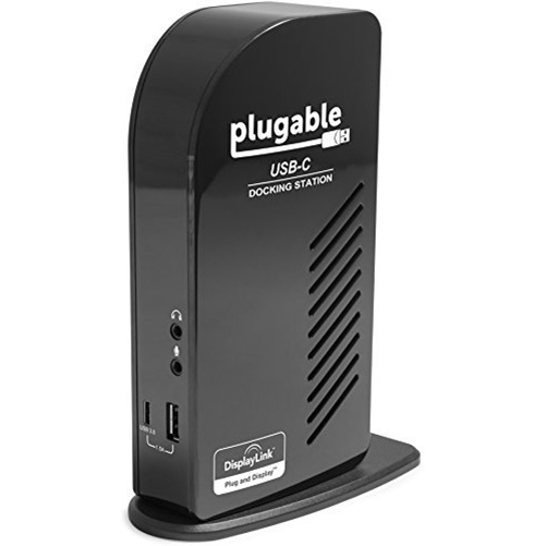 Plugable UD-ULTCDL USB-C Triple Display Docking Station by Plugable Technologies