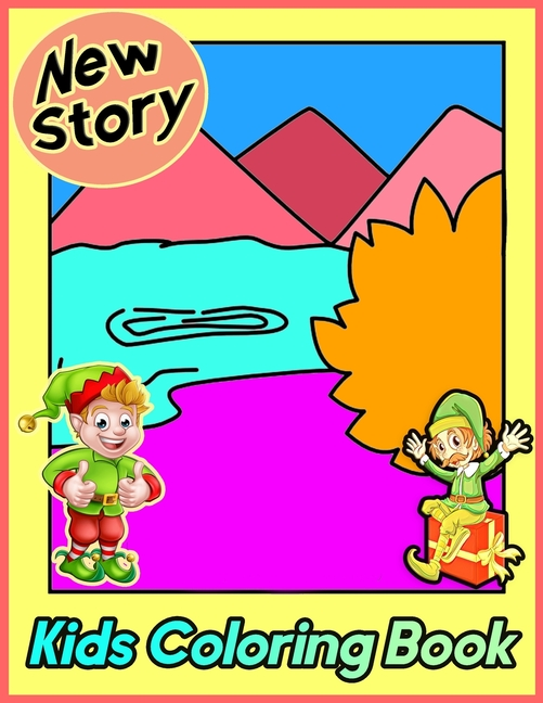 New Story Kids Coloring Book : Bible Story Coloring And Activity Book - 25 Bible  Coloring Pages For Christians Activity Book Bible Verse Church Activity  (Paperback) - Walmart.com - Walmart.com