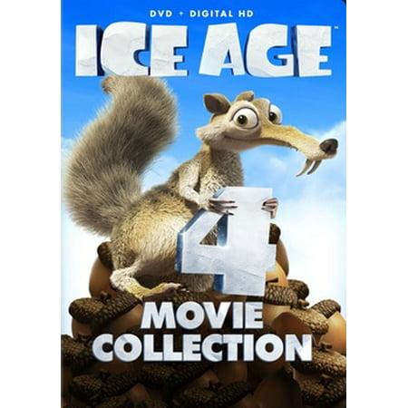 Ice Age 1-4 (DVD) - Ice Age Halloween Movie