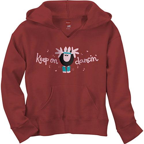Hanes - Girls' Dance Pullover Hoodie