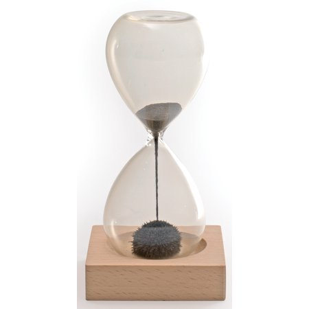 Sand Magnet - Hand-blown Glass Sand Timer Magnet Magnetic Office Toy