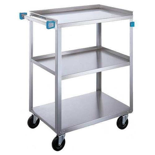 LAKESIDE 422 Utility Cart,500 lb.,Stainless Steel G6010121