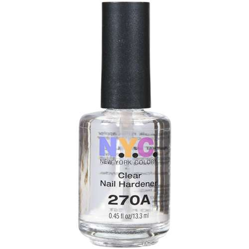 N.Y.C. New York Color Nail Hardener, 270A Clear