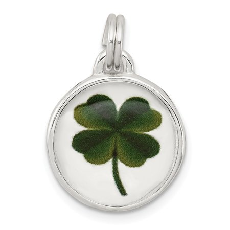 Roy Rose Jewelry Sterling Silver Four Leaf Clover Charm