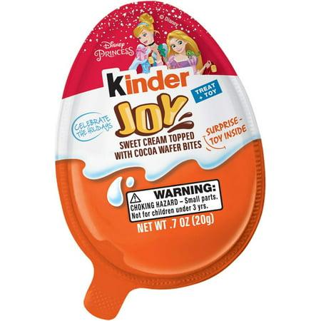 Kinder Joy Disney Princess Chocolate Surprise Egg (Best Kinder Egg Toys)
