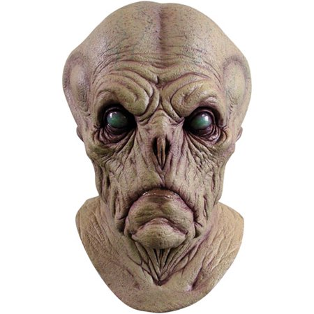 Alien Probe Adult Halloween Mask Accessory (Alien Morph Mask)