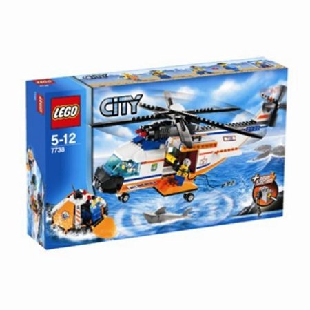 Lego City Coast Guard Helicopter Life Raft 7738 Walmart