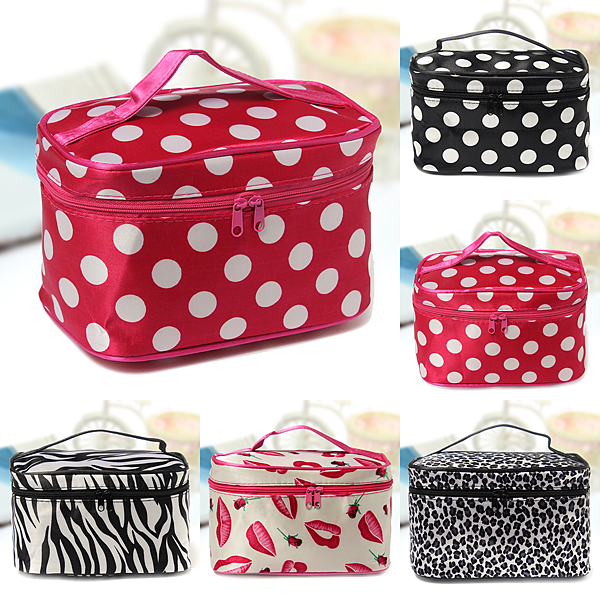 Lady Travel Organizer Accessory Toiletry Cosmetic Make Up Bag Carry Tote Cosmetic Container Case Pouch Portable Toiletry Wash Toiletry Holder Storage