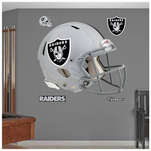 NFL Oakland Raiders Fathead Helmet Wall Graphic