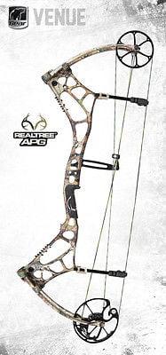 New Bear Archery Venue Compound Bow Package RH 70# Vista Case & 1 Dz Arrows Hunting Sports by
