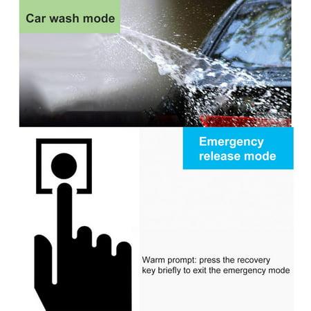 12V Auto Car Alarm One-button Push Engine Starter Switch PKE Keyless Entry Start Stop Antitheft System - image 4 de 8