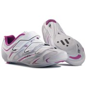 Northwave, Starlight 3S, Road shoes, Women's, White/Purple/Silver, 36