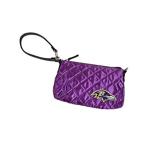 NFL - Baltimore Ravens Quilted Wristlet