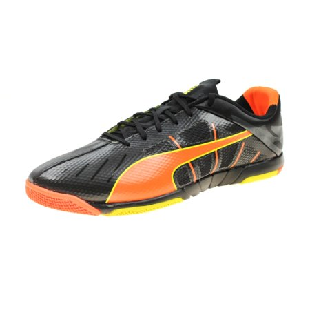 new concept 750a6 3bcff Puma Men s and Youth Big Boys Neon Lite 2.0 Indoor Soccer Shoes (Euro 36    US... - Walmart.com