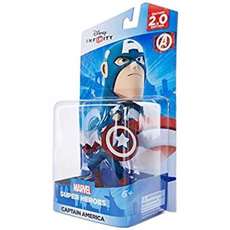Disney Infinity Marvel Super Heroes  2 0 Edition  Captain America Figure  Universal