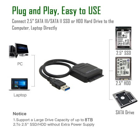 USB 3.0 to 2.5