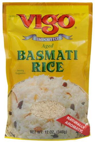 Vigo Aged Basmati Rice, 12.0 OZ by Vigo