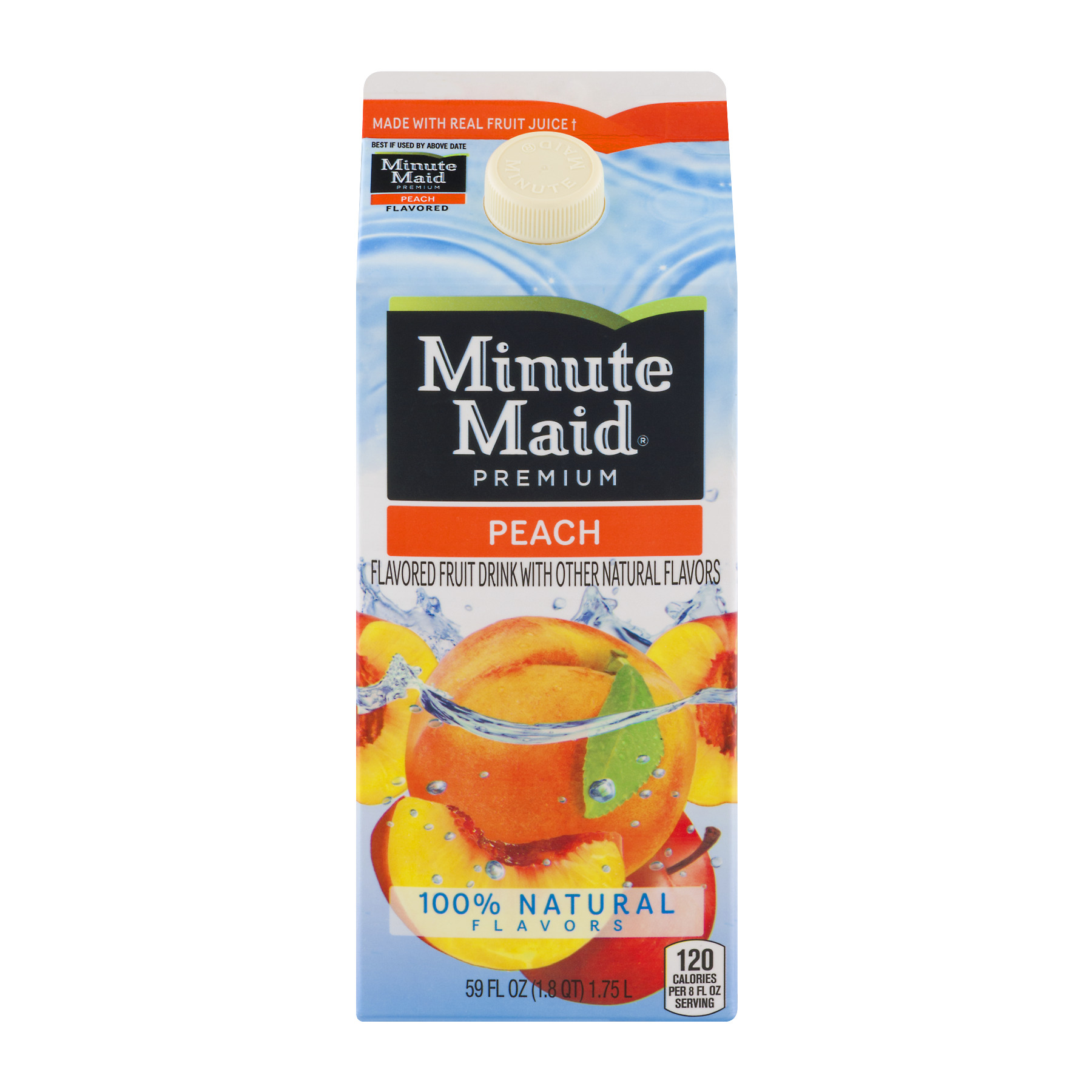 Minute Maid Premium Fruit Drink Peach, 59.0 FL OZ